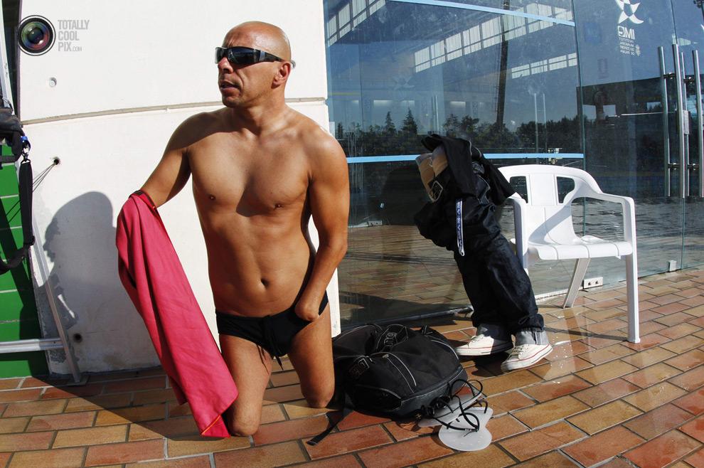 ldn2012parawimmers 008 Лондон 2012   тренировка паралимпийских пловцов