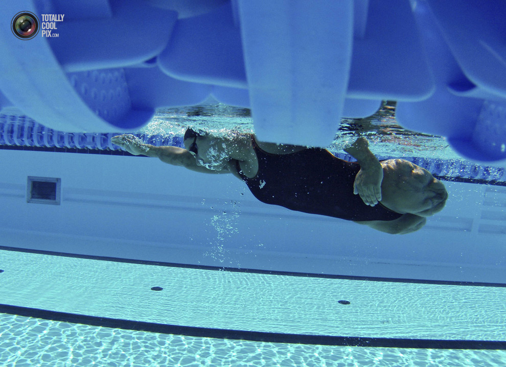 ldn2012parawimmers 012 Лондон 2012   тренировка паралимпийских пловцов