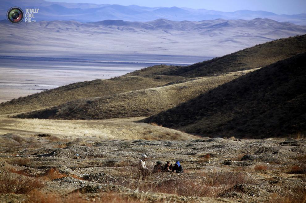 mongolia 004 Шахтеры ниндзя: Добыча золота в Монголии