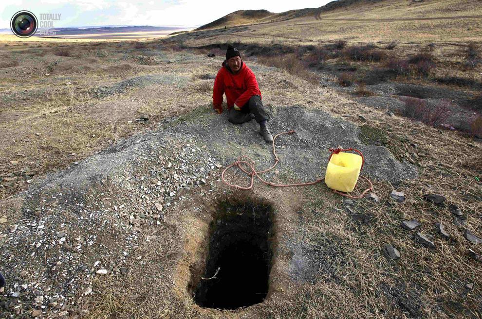 mongolia 006 Шахтеры ниндзя: Добыча золота в Монголии