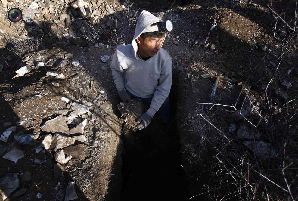 mongolia 014 Шахтеры ниндзя: Добыча золота в Монголии