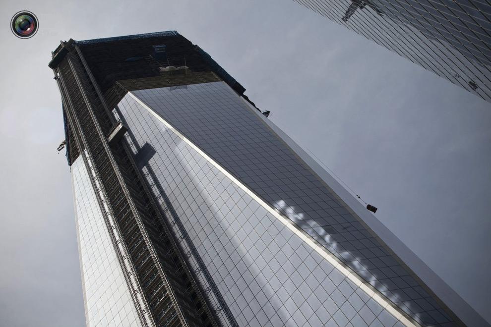 oneworldtrade 007 Строительство Всемирного торгового центра 1 в Нью Йорке