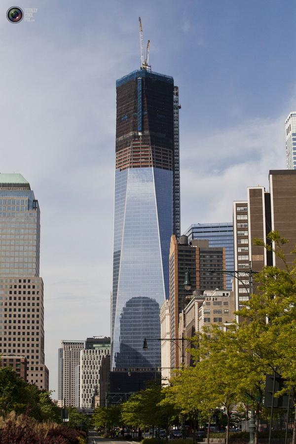 oneworldtrade 010 Строительство Всемирного торгового центра 1 в Нью Йорке