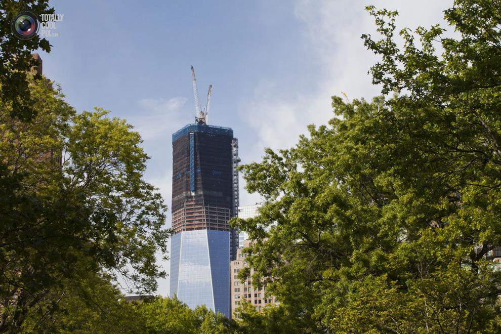 oneworldtrade 011 Строительство Всемирного торгового центра 1 в Нью Йорке