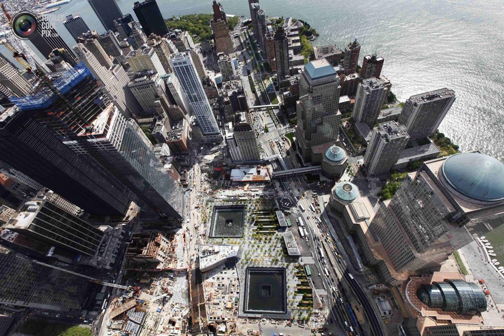 oneworldtrade 025 Строительство Всемирного торгового центра 1 в Нью Йорке