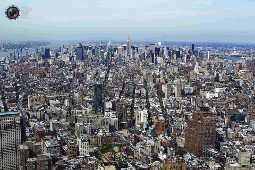 oneworldtrade 027 Строительство Всемирного торгового центра 1 в Нью Йорке