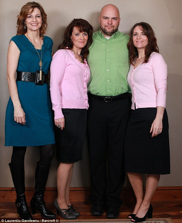 poli1b Семейный квартет мормонов из Солт Лейк Сити