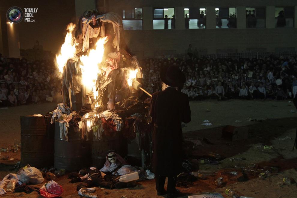 ultrajews 001 Евреи ортодоксы отмечают Лаг ба Омер