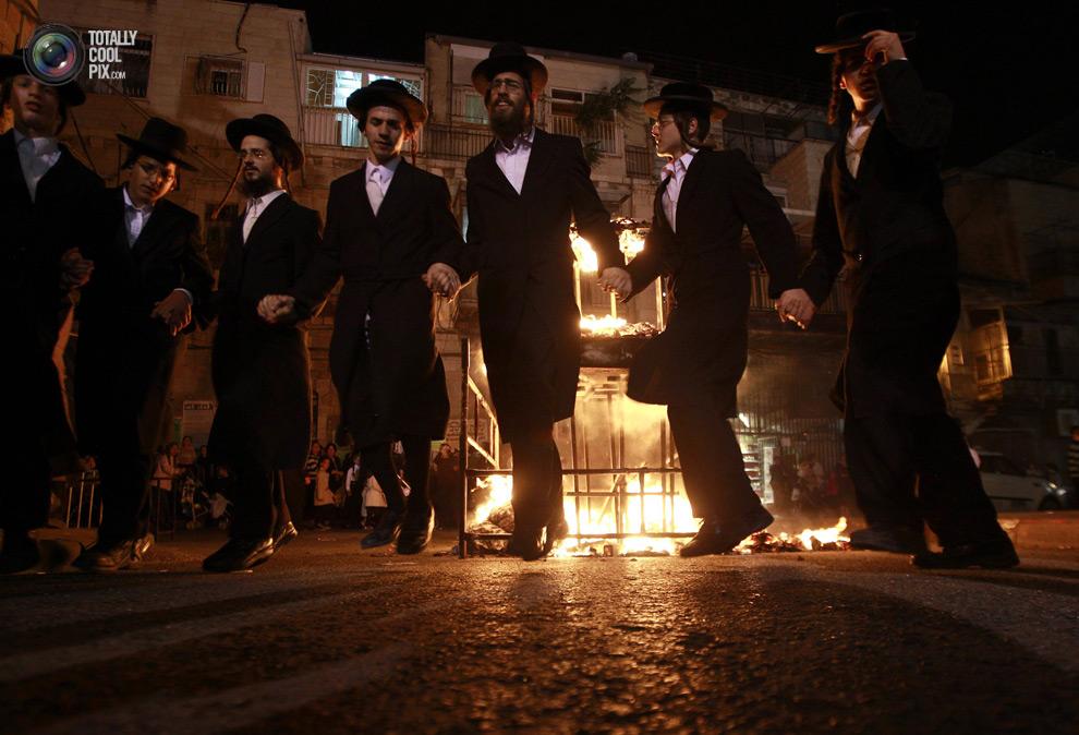 ultrajews 005 Евреи ортодоксы отмечают Лаг ба Омер