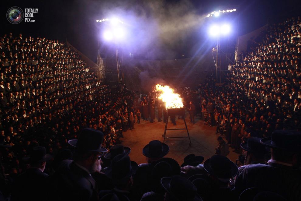 ultrajews 006 Евреи ортодоксы отмечают Лаг ба Омер