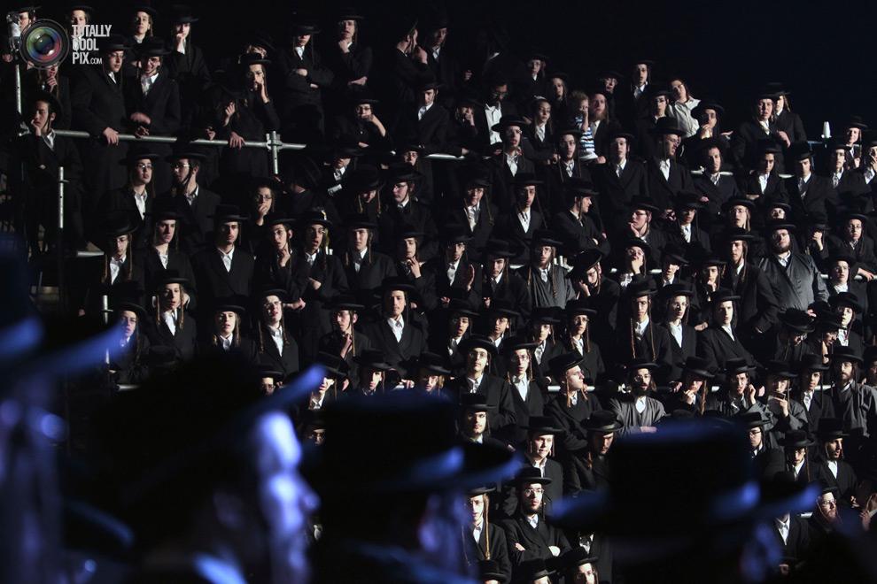 ultrajews 009 Евреи ортодоксы отмечают Лаг ба Омер