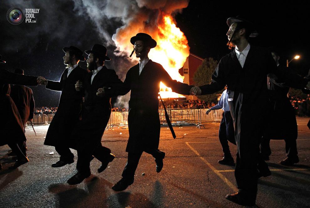 ultrajews 011 Евреи ортодоксы отмечают Лаг ба Омер