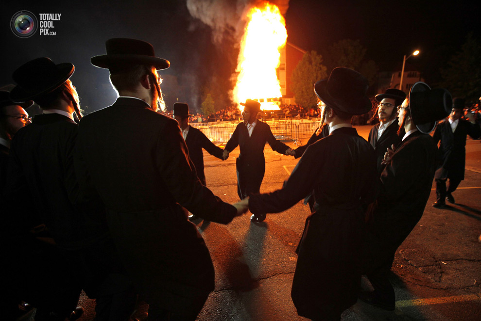 ultrajews 013 Евреи ортодоксы отмечают Лаг ба Омер