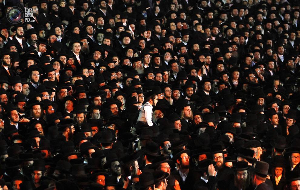 ultrajews 014 Евреи ортодоксы отмечают Лаг ба Омер