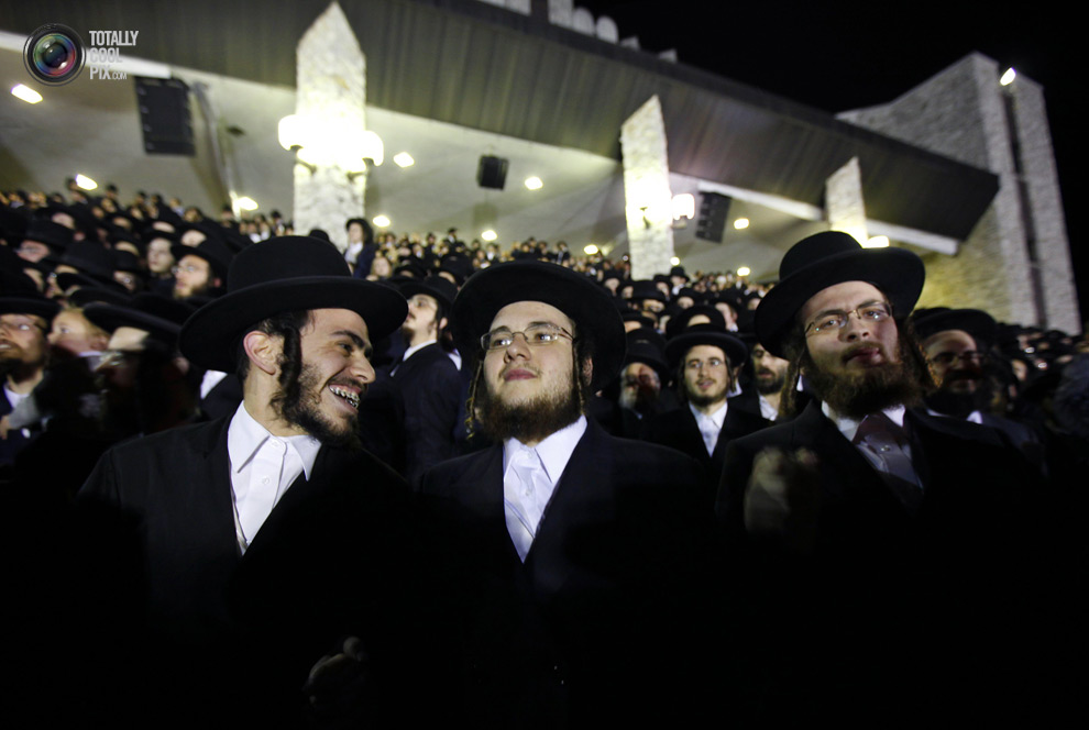 ultrajews 017 Евреи ортодоксы отмечают Лаг ба Омер