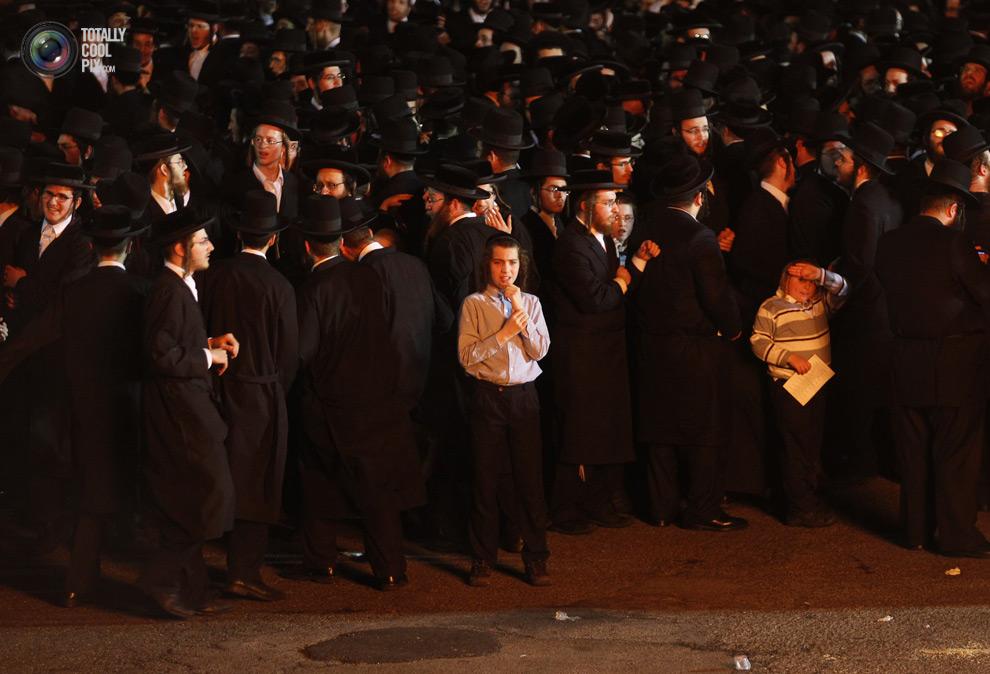 ultrajews 018 Евреи ортодоксы отмечают Лаг ба Омер