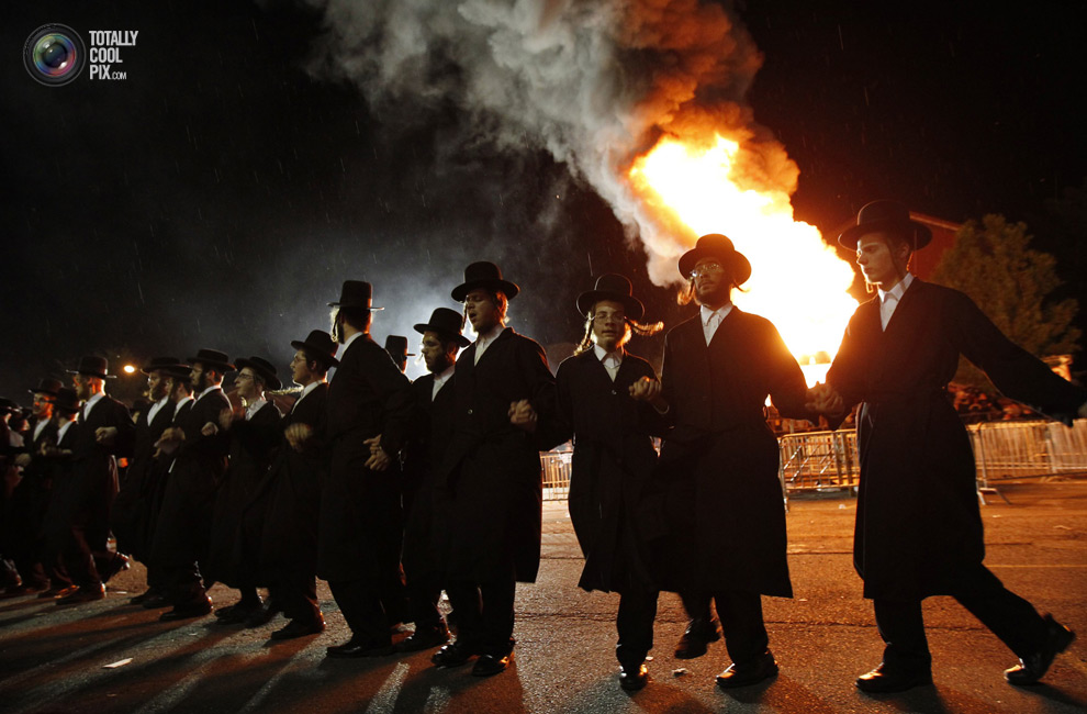 ultrajews 020 Евреи ортодоксы отмечают Лаг ба Омер