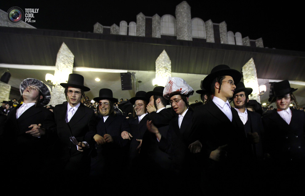 ultrajews 021 Евреи ортодоксы отмечают Лаг ба Омер