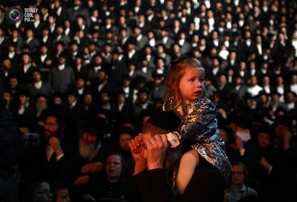 ultrajews 025 Евреи ортодоксы отмечают Лаг ба Омер