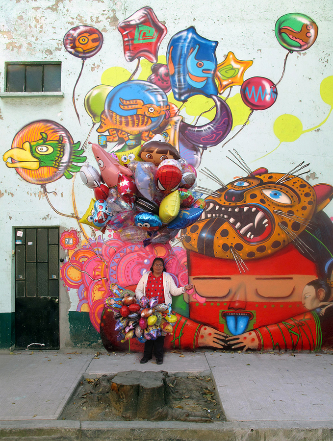 0 173 Уличные рисунки арт хулигана Seth