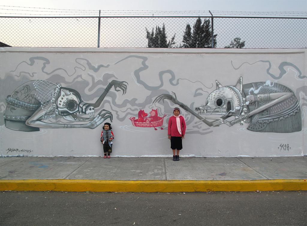 0 193 Уличные рисунки арт хулигана Seth