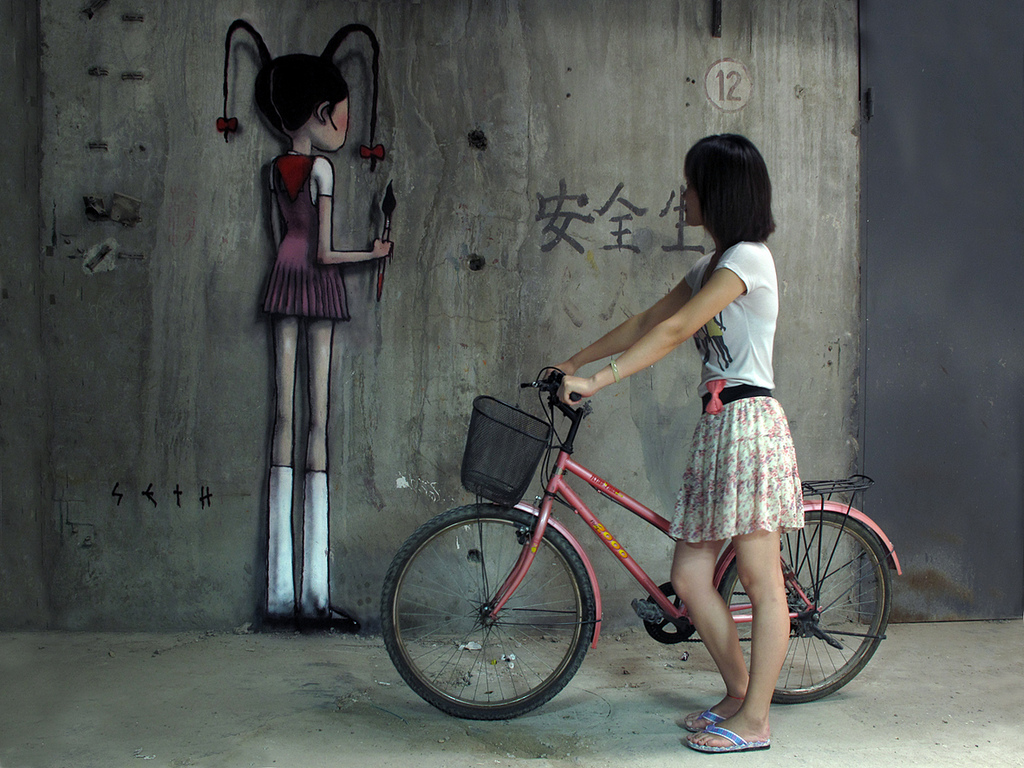 0 252 Уличные рисунки арт хулигана Seth