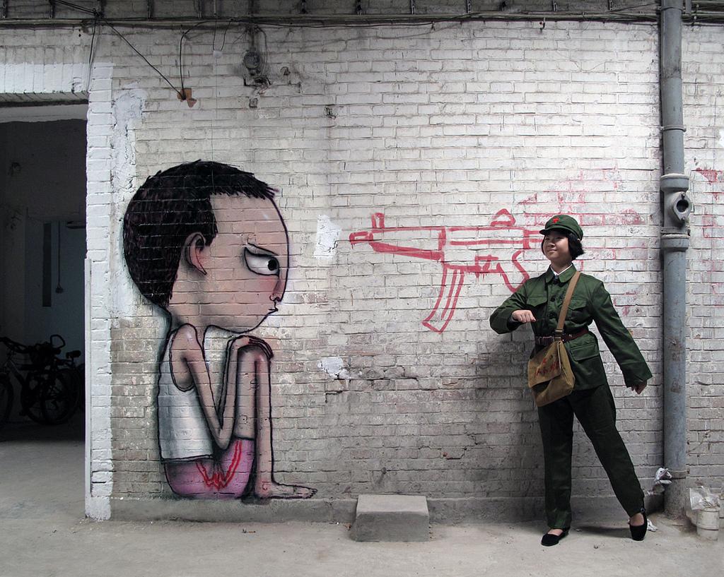 0 262 Уличные рисунки арт хулигана Seth