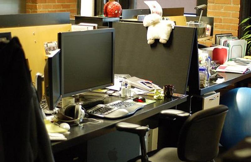 0 55 Так выглядят рабочие столы Джобса, Гейтса, Баллмера, Цукерберга и других