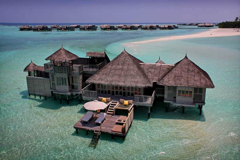 0 Удивительные домики отеля Soneva Gili на Мальдивах