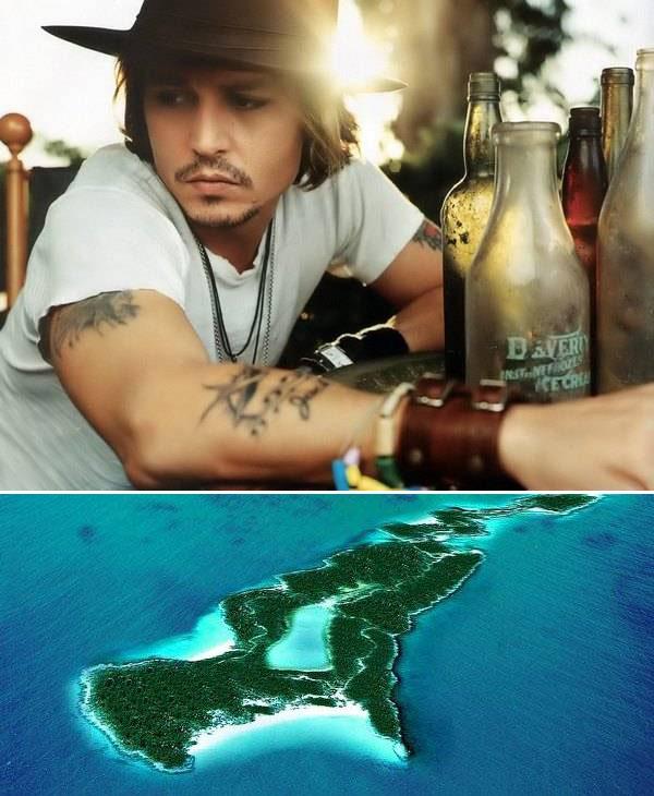 0032 Знаменитости   владельцы островов
