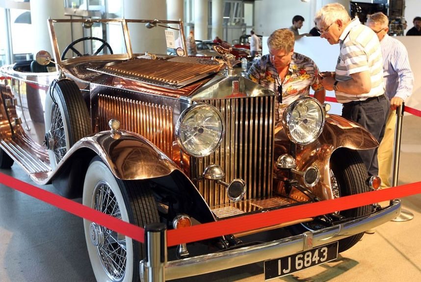 03 1930 Rolls Royce P 2216033k Уникальные автомобили и суда на аукционе в Монако