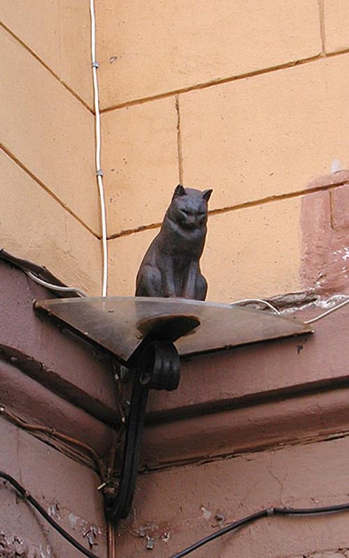 031 Elisey Скульптуры и памятники кошкам