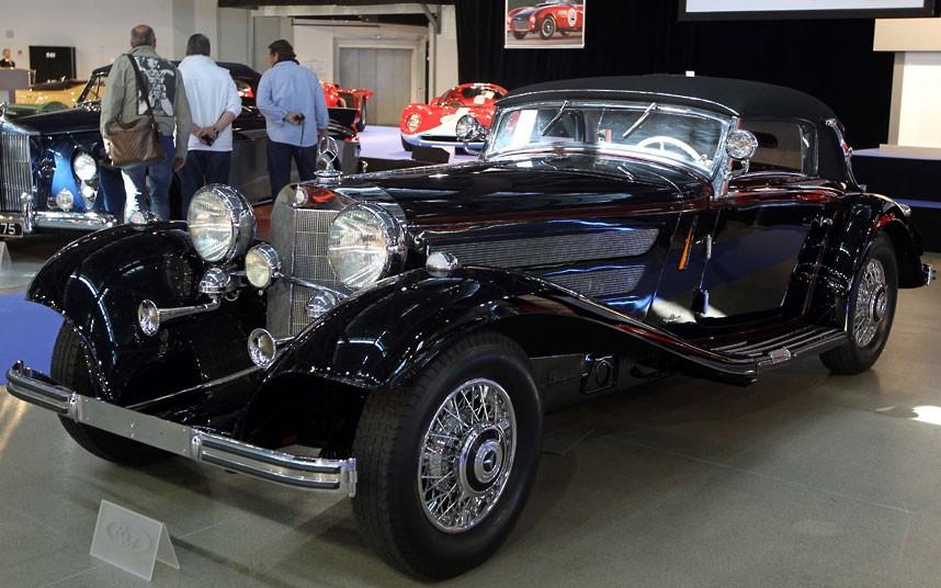 05 1936 Mercedes Benz 2216034k Уникальные автомобили и суда на аукционе в Монако