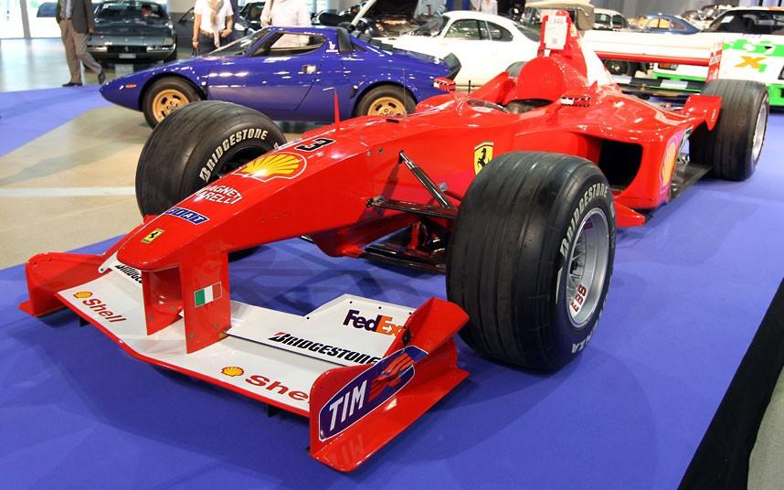09 2000 Ferrari F1 2216036k Уникальные автомобили и суда на аукционе в Монако