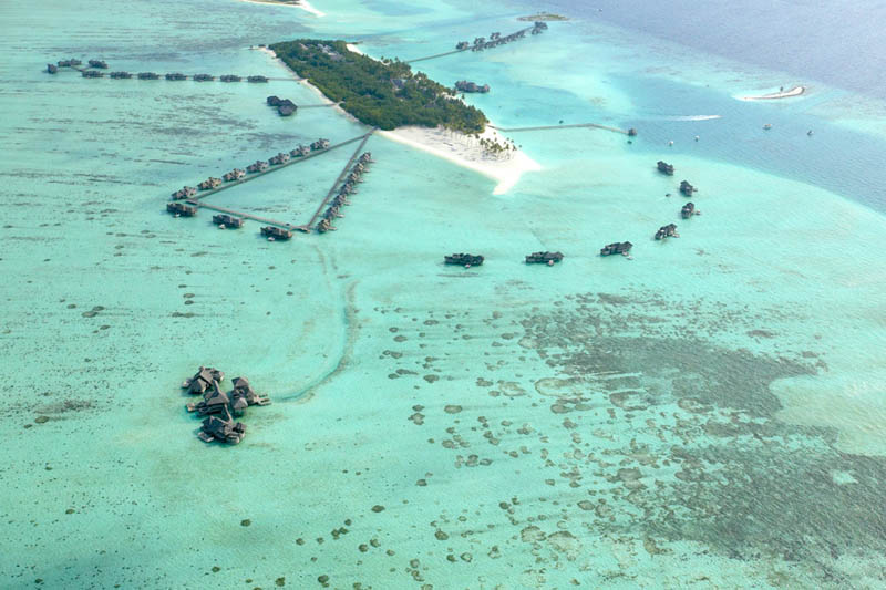 1 Удивительные домики отеля Soneva Gili на Мальдивах