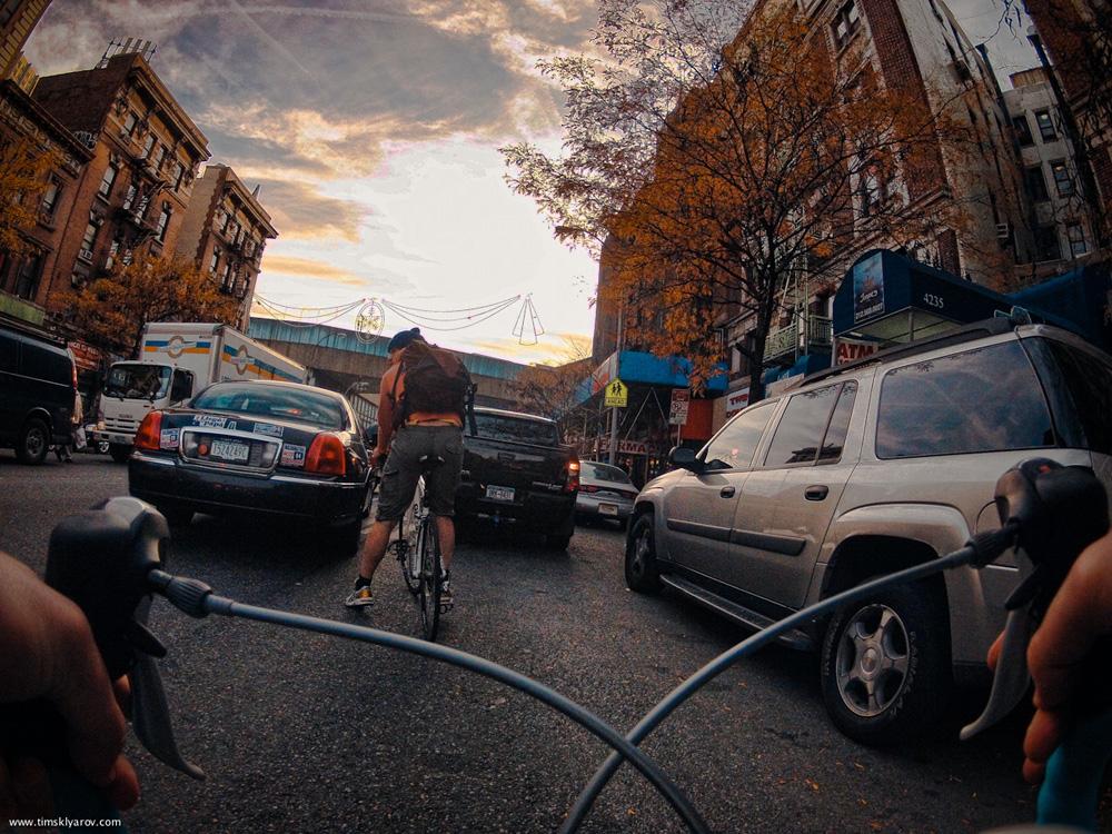 1025 Нью Йорк глазами дорожного велосипеда