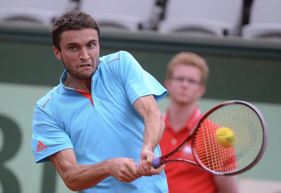 1034 Смешные лица открытого теннисного турнира Ролан Гаррос