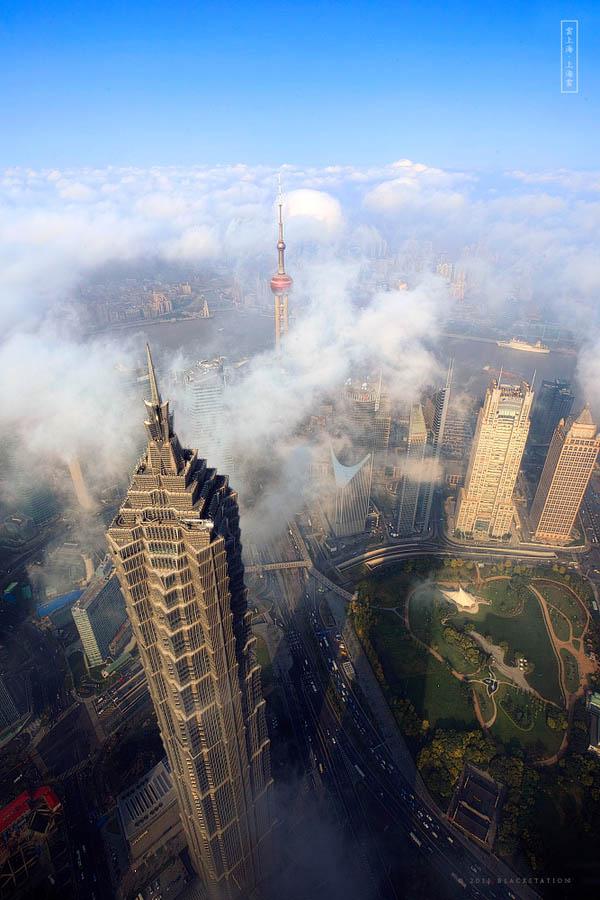 1063 Небоскребы Шанхая