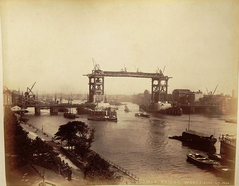 11 Как строился Тауэрский мост