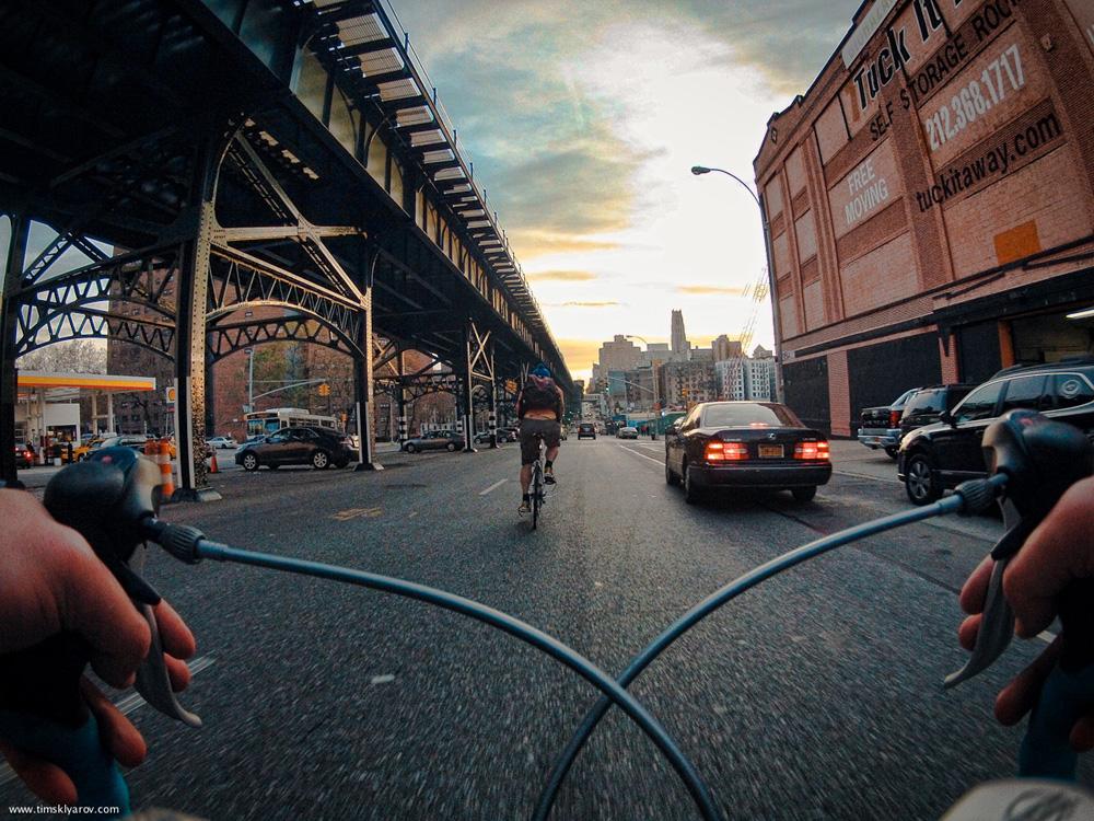 1106 Нью Йорк глазами дорожного велосипеда