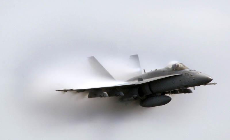 11114 30 лучших фотографий преодоления «звукового барьера» самолётами