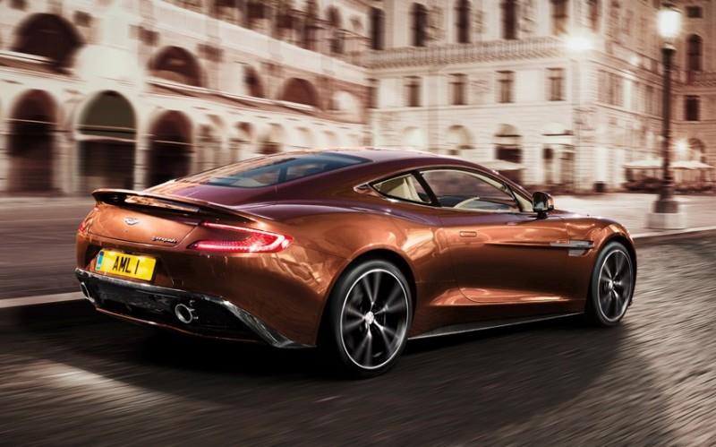 Фотографии новейшего Aston Martin Vanquish