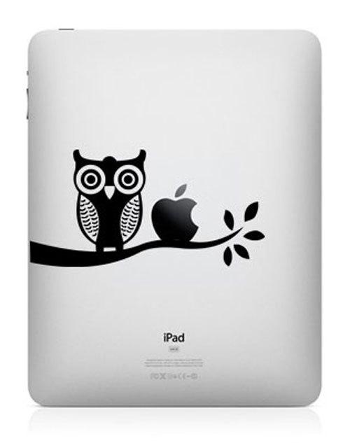 1133 33 креативных наклейки на ваш iPad