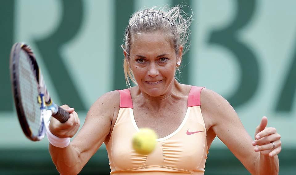 1139 Смешные лица открытого теннисного турнира Ролан Гаррос