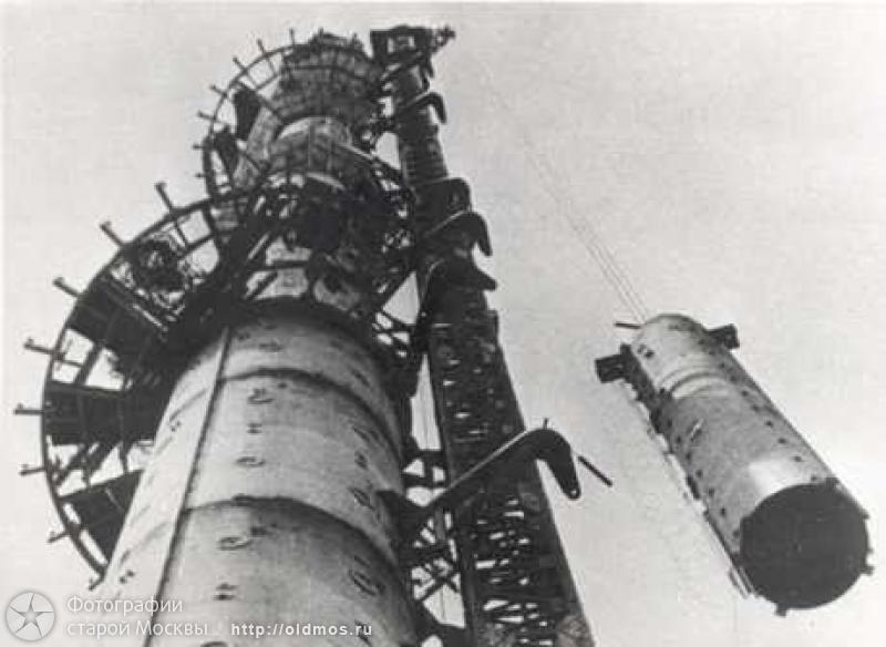 1148 18 кадров о том, как строили Останкинскую башню