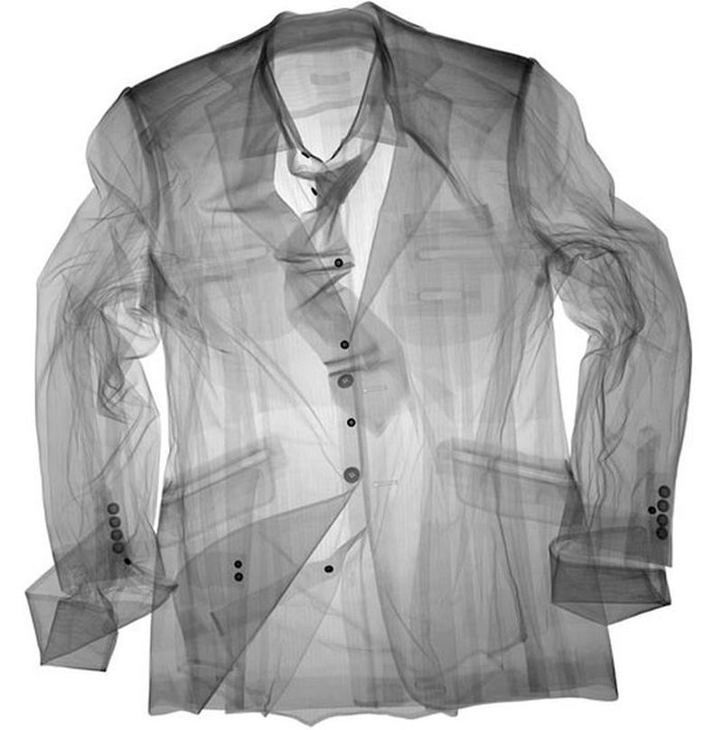 12Пиджак рубашка галстук Рентгеновский взгляд на мир Ника Визи