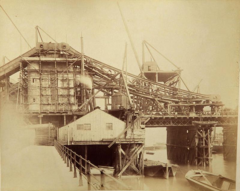 12 Как строился Тауэрский мост