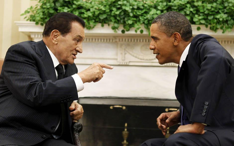 12107 Жизнь Хосни Мубарака в фотографиях
