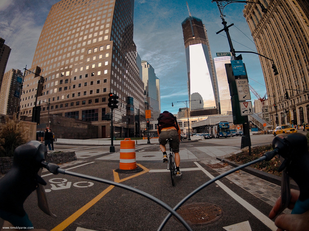 1226 Нью Йорк глазами дорожного велосипеда