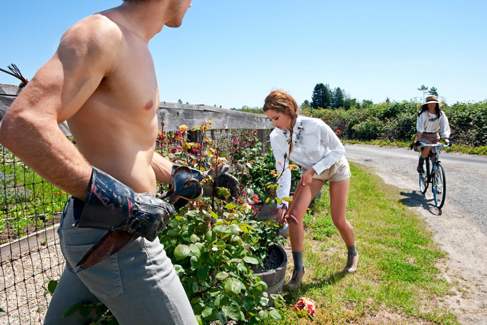 1227 Реклама и секс в работах фотографа Шона Дюфрена